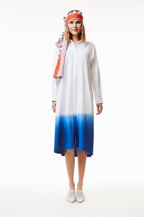 Bombay Shirt Dress (Dip Dye)