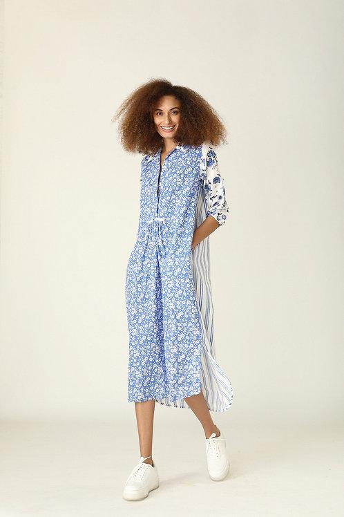 Brooklyn Long Dress -Provence