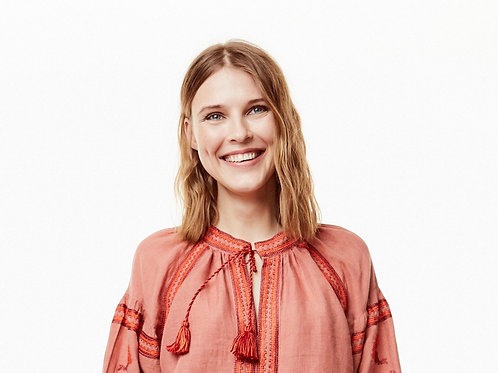 Becca Embroidered Dress