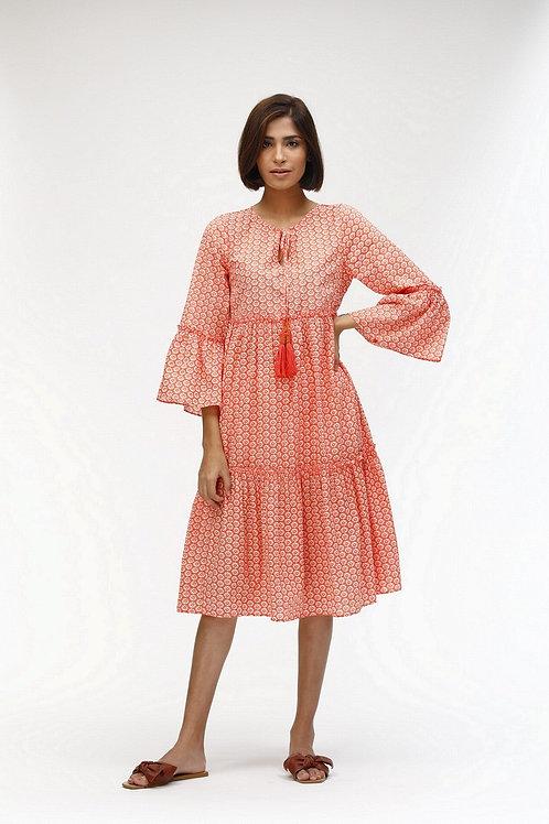 Dulce Dress - Pauline (Coral)