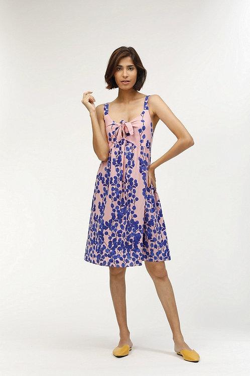 Fanny Short Dress - Leaf