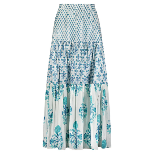 Frilly Skirt -Pomme (Turquoise)