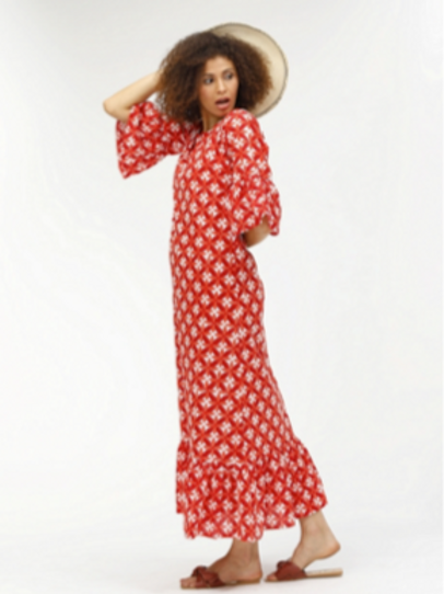 Melania Dress - Portia (Red)