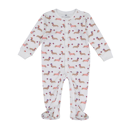 Casey Infant Pajama Suit - Le Hot Dog