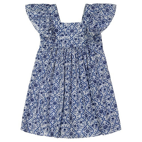 Calinda Dress (Girls) -  Mixed Floral