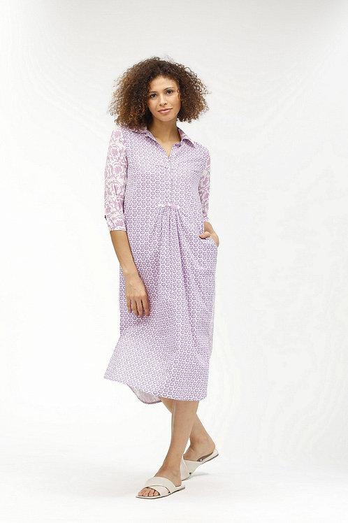 Brooklyn Long Dress - Pauline