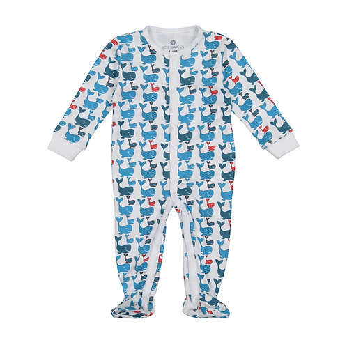 Casey Infant Pajama Suit - Free Willy
