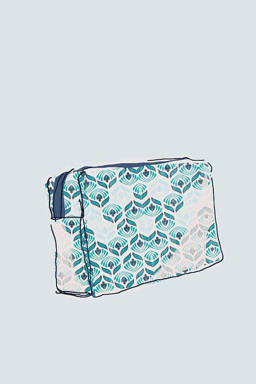 Gogo Cosmetic Pouch (medium) - Olivia Aqua