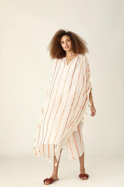 Florinda Kaftan - Copper Stripe