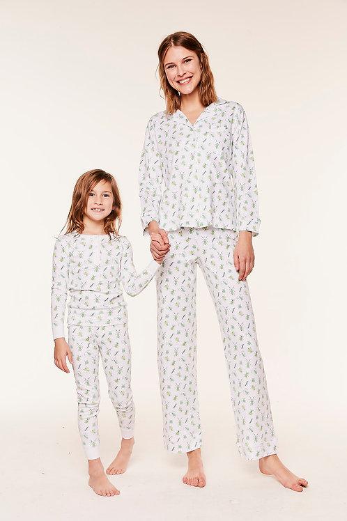 Carmen Women's Pajamas - Bugsy Lime