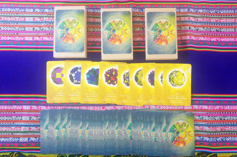 Light Language Shapes Cards  קלפי צורות שפת האור