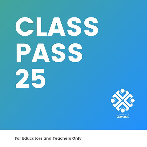 Class Pass For 25 Students