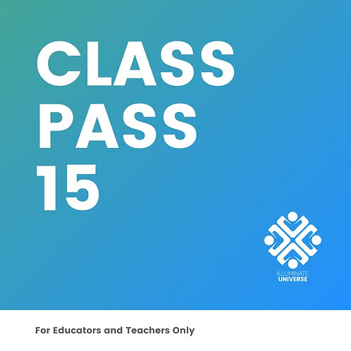 Class Pass For 15 Students