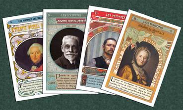 Jeu de cartes des 7 familles de Seine-Port