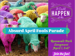Longmont April Fools Parade
