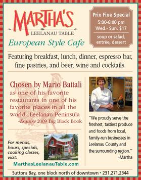 Martha's Leelanau Table