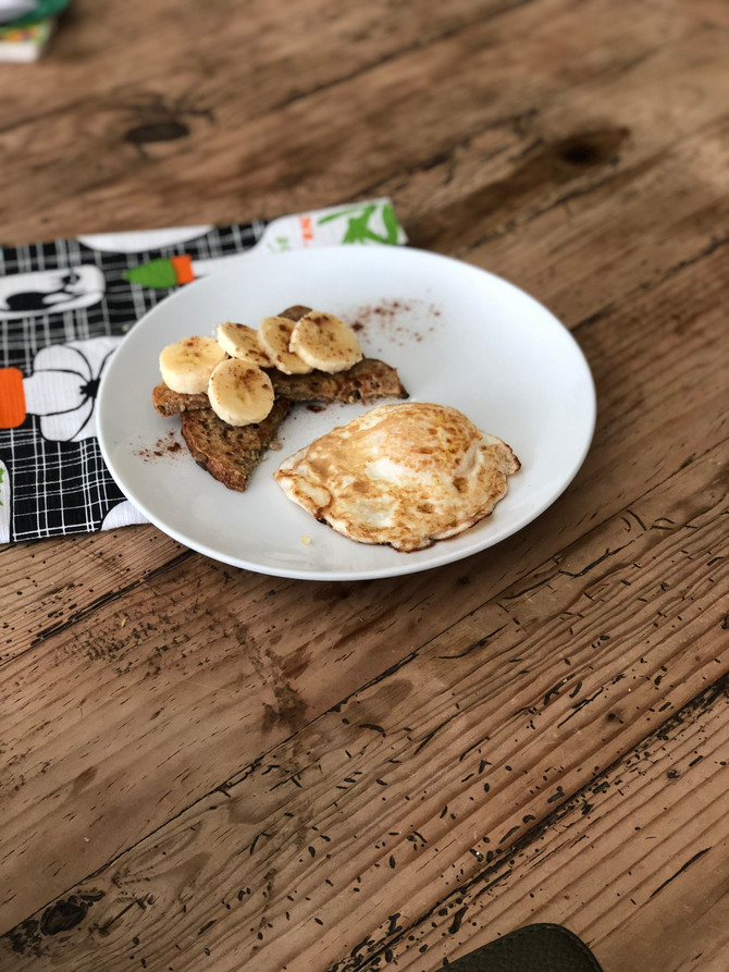 5 Minute Healthy, Kid Friendly French Toast