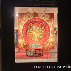 Acrylic decoration window display