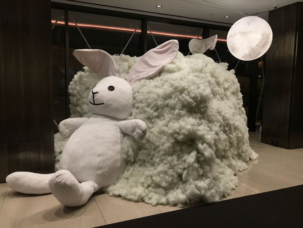 Nan Fung Lobby Easter Decoration 2019