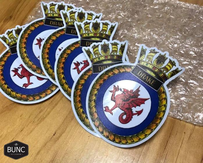 團體/團隊徽章車身貼紙
