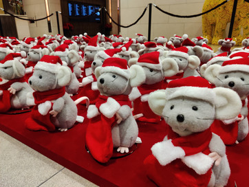 Christmas Spinning Decoration