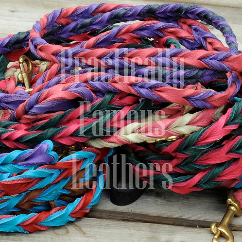 Twisted Bullhide Leads