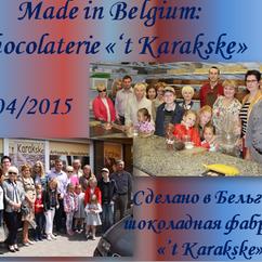 04/2015 Bezoek van Chocolaterie