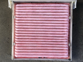 """Clean cabin filter what it should look like."""