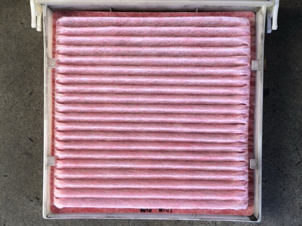 """""""Clean cabin filter what it should look like."""""""