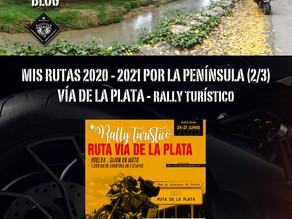 Rutas 2020-21. Vía de la Plata.