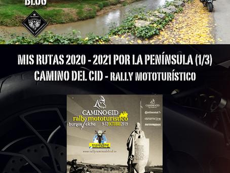 RUTAS 2020-21. Camino del Cid.