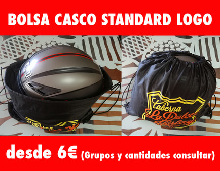 BOLSA CASCO STANDARD CON LOGO