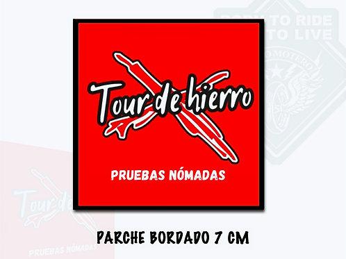 PARCHE BORDADO 7 cm (Tour de Hierro)