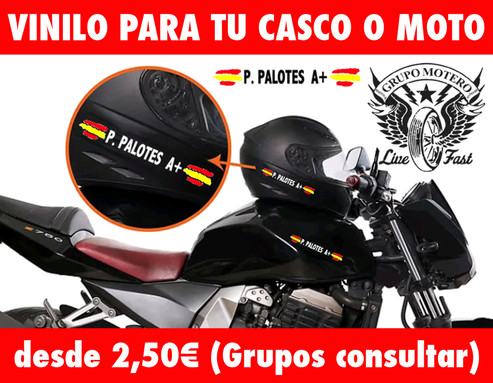 VINILOS PARA CASCO/MOTO