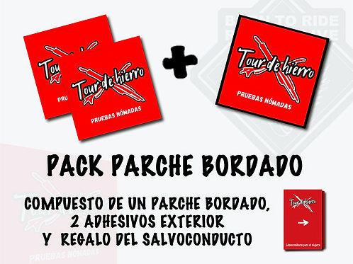 PACK 1 - Salvoconducto + Parche y Adhesivo (Tour de Hierro)