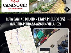 Ruta Camino del Cid. Etapa Prólogo.