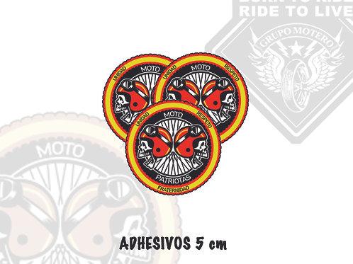 ADHESIVOS 5 cm (Motopatriotas)
