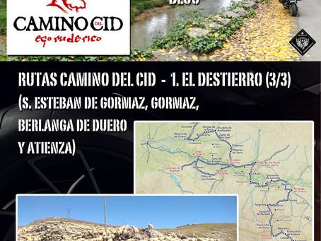 Ruta Camino del Cid. 1. EL DESTIERRO (3/3).