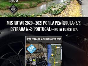 Rutas 2020-21. Estrada N-2 (Portugal).
