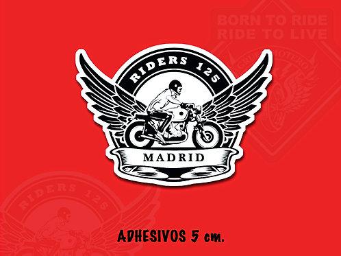 ADHESIVOS 5 cm (Riders 125 Madrid)