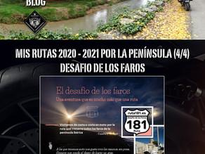 Rutas 2020-21. Ruta 181 Faros.