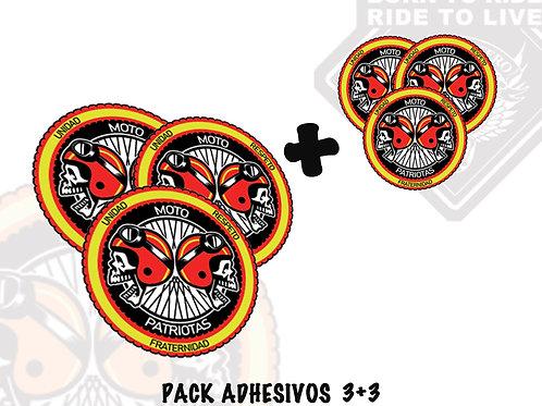 PACK ADHESIVOS (Motopatriotas)