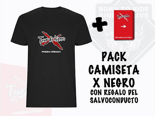 PACK 3 - Salvoconducto y Camiseta (Tour de Hierro)