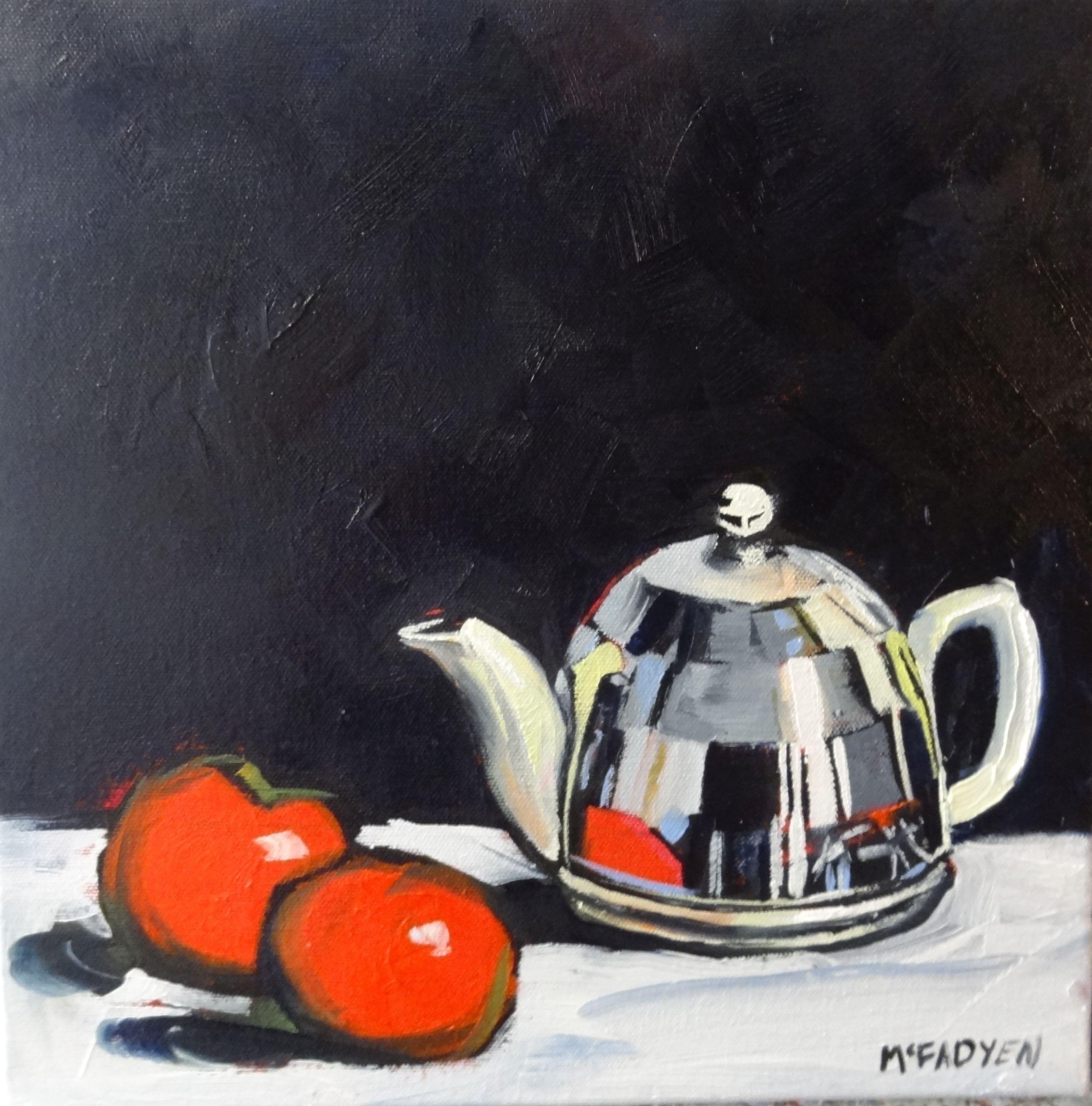 Silver Tea Pot   LEXMUTT095