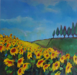 Sunflowers - End of the Day  LEXMUTT105