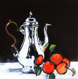 Silver Coffee Pot   LEXMUTT096
