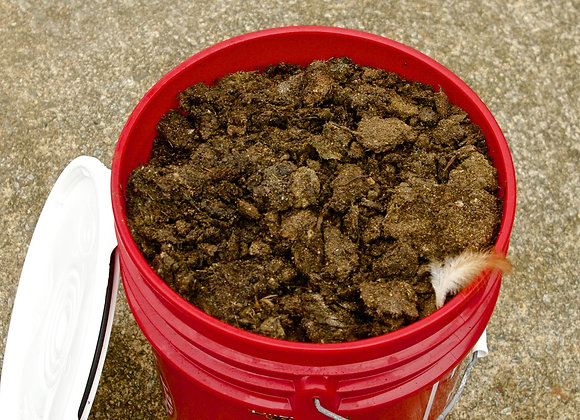 Organic Chicken and Goat Manure