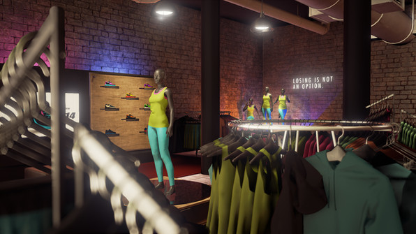 VR Retail Experience