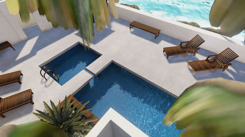 VR Resort Pool Visualization