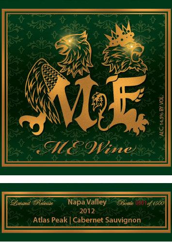 2012 Me Wine Atlas Peak Cab